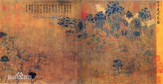 隋唐绘画艺术 - 美术史论 - 京龙艺圣