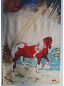 中国帛画中的——[织锦画] - 热点赏析 - 京龙艺圣