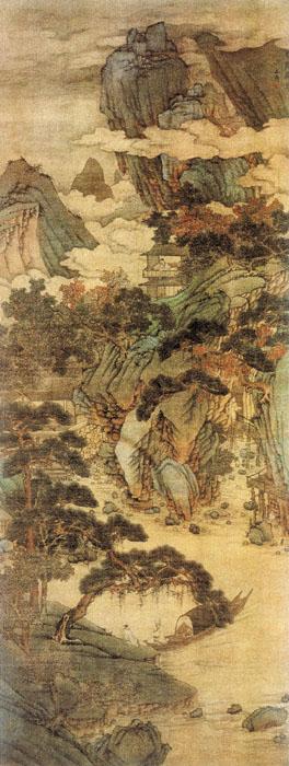 《雪际停舟图》——沈周 - 艺术鉴赏 - 京龙艺圣