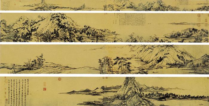 《富春山居图》——黄公望 - 艺术鉴赏 - 京龙艺圣