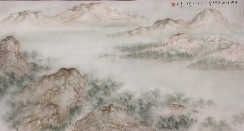 潇雨:史学良 - 山水展馆 - 京龙艺圣