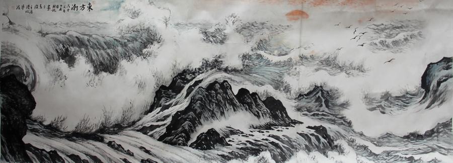 东方潮—金林观 - 山水展馆 - 京龙艺圣
