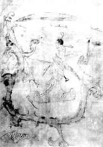中国古典帛画艺术 - 热点赏析 - 京龙艺圣