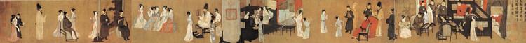 《韩熙载夜宴图》—— 顾闳中 - 艺术鉴赏 - 京龙艺圣