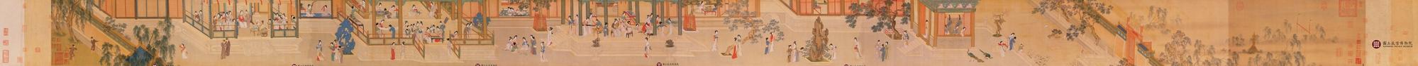 《汉宫春晓图》——仇英 - 艺术鉴赏 - 京龙艺圣